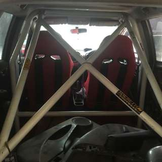 CUSTOM ROLLBAR 4 TITIK MADE FOR HONDA JAZZ GE8 by BMK SPORTY BINTARO