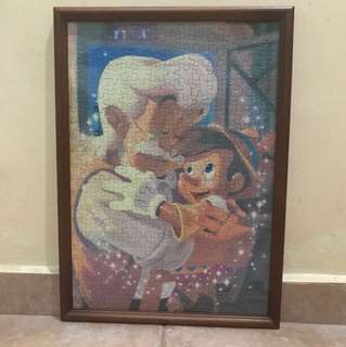 Pinocchio Puzzle with Frame CLEARANCE MUST GO FAST GIVE