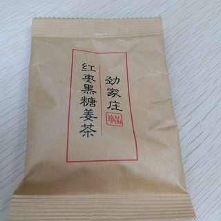 紅棗黑糖薑茶3包