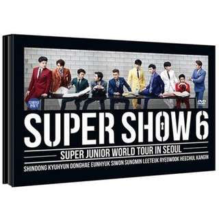 [PREORDER] Super Junior-Super Show 6