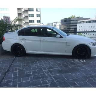 """VERTINI CONCAVE 19"""" SPORT RIMS FOR BMW 320i - USED"""