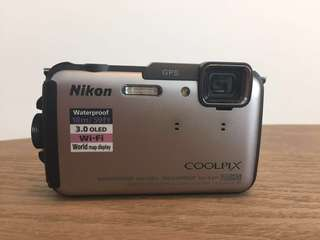 Nikon Coolpix AW110 Waterproof/Shockproof WiFi Camera in fantastic condition!