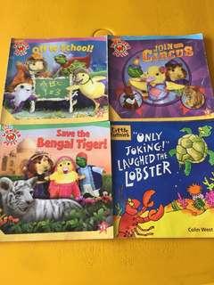 Assortment of Children Books - The Wonder Pets