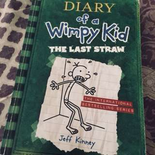Diary of a wimpy kid ( the last straw)