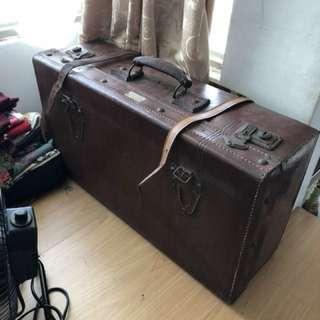 阿公老皮箱