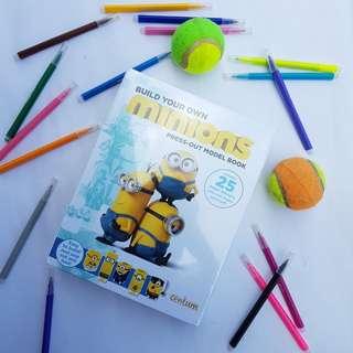 Minions Activity Book