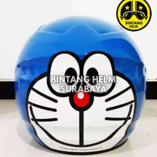 Helmet BMC Milan doraemon smiley blue
