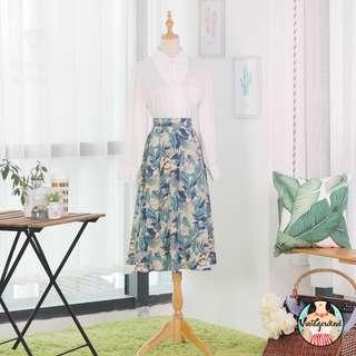🍿 Vintage Midi Skirt VS1225