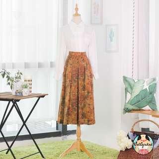 🍿 Vintage Midi Skirt VS1227