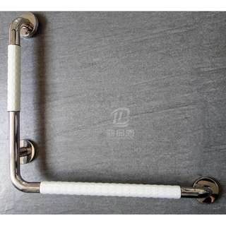 Installation of L Shape Grab bar for bathrooms