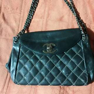 Authentic chanel vintage double flap preloved