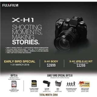 Fujiflim X-H1