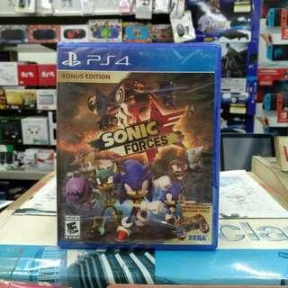 🆕 PS4 Sonic Forces ( Bonus Edition )