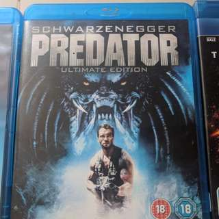 Blu Ray collectors movies.....Predator 1 & 2, The Dark Knight Rises, Restrepo(Revised price!!)
