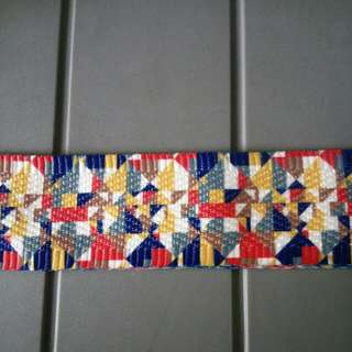 Colorful Fabric Strap