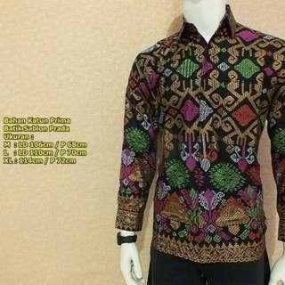 Kemeja Batik Modern Pria