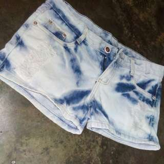 Tattered Denim Short