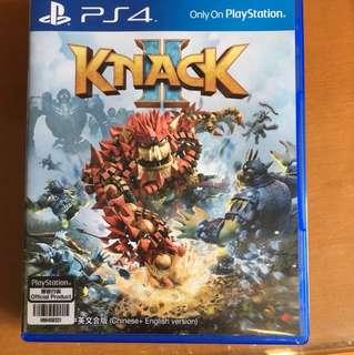 [PS4]99%新Knack2 有code