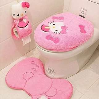 Toilet Seat Cover Set