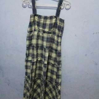 Dress panjang kotak2