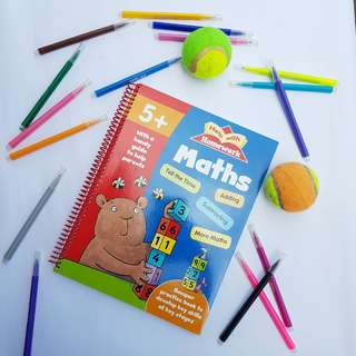 Children's Math Activity Book
