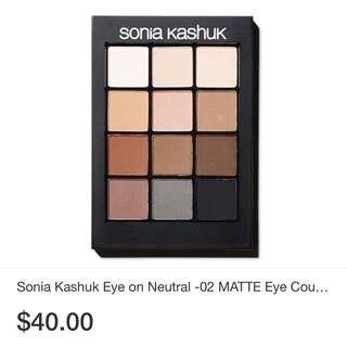 Sonia Kashuk Eye shadow palette 12 shades