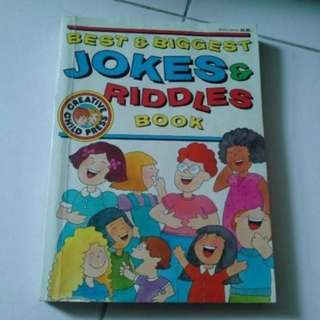 best and biggest jokes and riddles book
