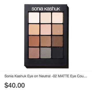 Sonia Kashuk Eye shadow palette 12 shades
