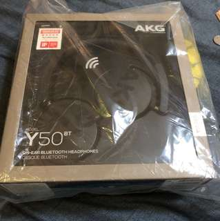 Brand New AKG Y50 Bluetooth headphones (sealed)