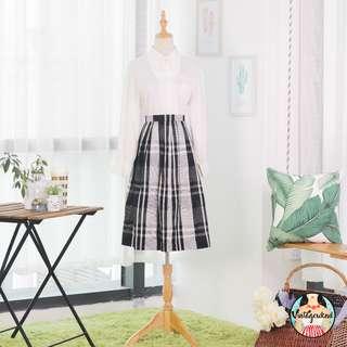 🍿 Vintage Midi Skirt VS1229