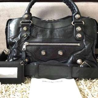 Balenciaga giant21 city black
