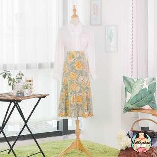 🍿 Vintage Midi Skirt VS1232