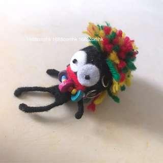 泰國手工品藝術🍓非洲土人特別掛飾鎖匙
