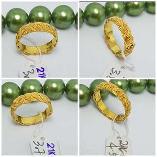 21K Genuine Gold Ring