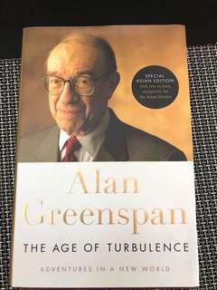 經典名人 Alan Greenspan - age of turbulence 八成新