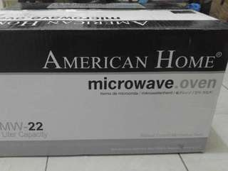 AMERICAN HOMES MICROWAVE OVEN