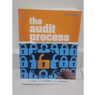 The Audit Process - Principles, Practice and Cases - Six Edition