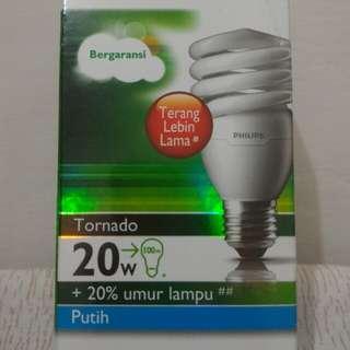 Lampu PHILIPS Tornado 2 W - Putih