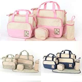 Modern & Lovely Mummy & Baby 5 piece Bag