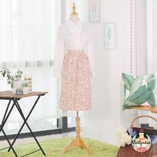 🍿 Vintage Midi Skirt VS1233