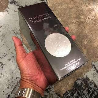 Authentic Original Davidoff Champion Perfume 90ml Limited Stock First Come First Served 😎👍