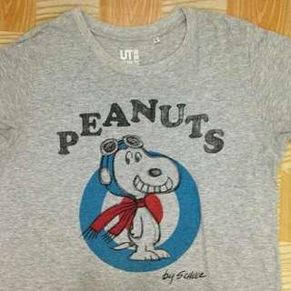 Kaos Peanuts Uniqlo
