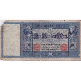1909 Germany 100 Mark