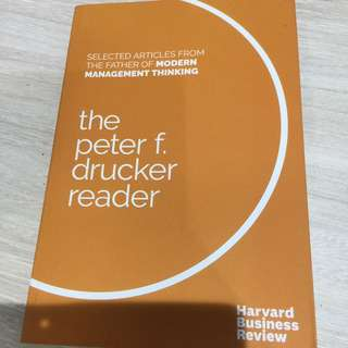 Selected articles from the father of modern thinking by Harvard business review