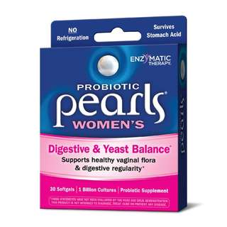 NEW - Probiotic Pearls Women's Digestive and Yeast Balance - Made in Japan