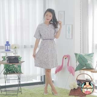 🍿 Vintage Midi Dress VD1087
