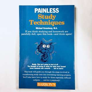 Painless Study Techniques (Barron's Painless Series) Paperback