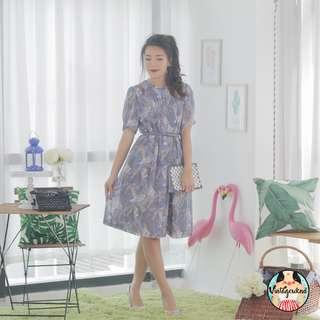 🍿 Vintage Midi Dress VD1090