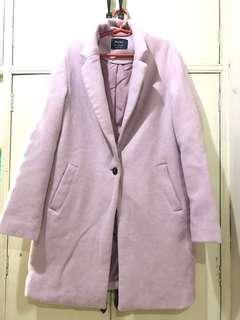 Bershka Pink Coat