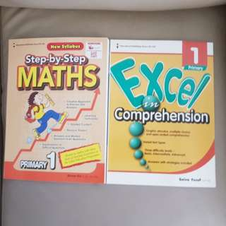 P1 Brand New English Assessment Books